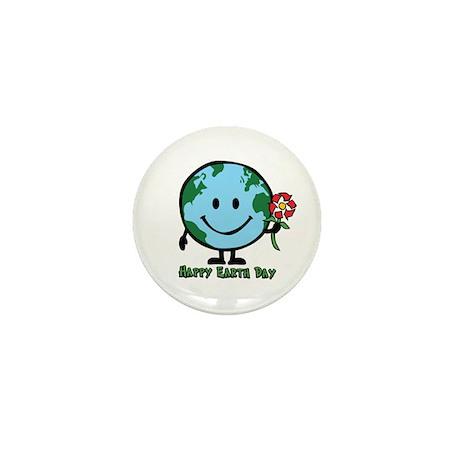 Happy Earth Day Mini Button (10 pack)