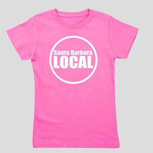 Santa Barbara Local™ Logo Circled Girl's Tee