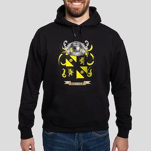 Kramer Coat of Arms - Family Crest Hoodie (dark)