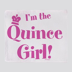 I'm the Quince Girl! Throw Blanket