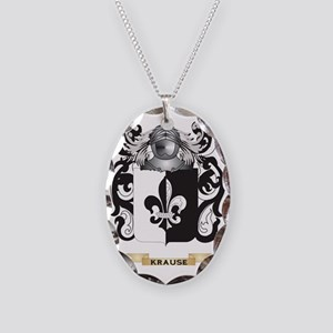 Krause Coat of Arms - Family C Necklace Oval Charm