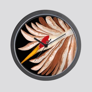 Love Sandhill Cranes Love Birds Wall Clock