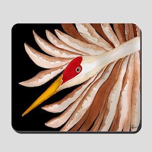 Love Sandhill Cranes Love Birds Mousepad