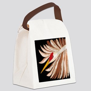Love Sandhill Cranes Love Birds Canvas Lunch Bag