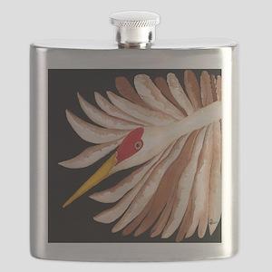 Love Sandhill Cranes Love Birds Flask