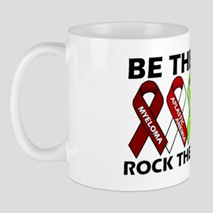 Be the Cure Ribbon Design Mug