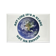It's A Globe Rectangle Magnet (10 pack)