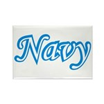 Navy ver2 Rectangle Magnet (100 pack)