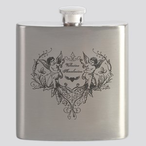 Valentine Shmalentine Flask