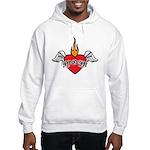 Mother's Day : Mom heart Hooded Sweatshirt