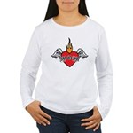 Mother's Day : Mom heart Women's Long Sleeve T-Shi