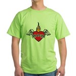 Mother's Day : Mom heart Green T-Shirt