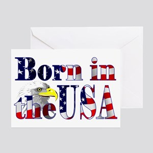 Born in the USA Greeting Cards (Pk of 10)