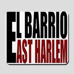 """""""CLICK HERE"""" EL BARRIO Mousepad"""