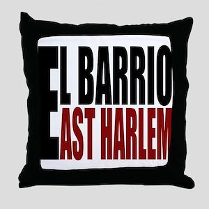 """""""CLICK HERE"""" EL BARRIO Throw Pillow"""