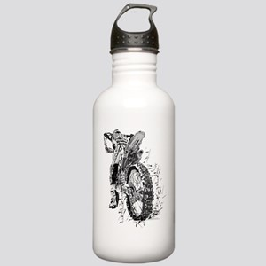 Motor Cross Stainless Water Bottle 1.0L