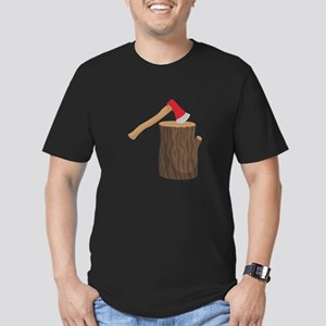 Axe With Log T-Shirt