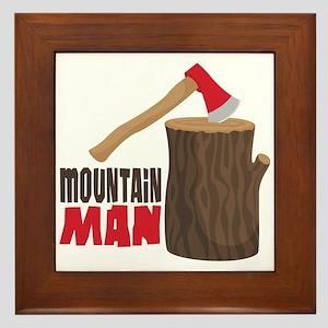 mOUNTAiN MAN Framed Tile