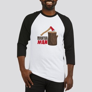 mOUNTAiN MAN Baseball Jersey