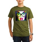Drag Queen HRHSF Organic Men's T-Shirt (dark)