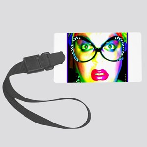 Drag Queen HRHSF Large Luggage Tag