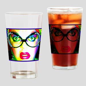 Drag Queen HRHSF Drinking Glass