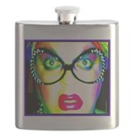 Drag Queen HRHSF Flask