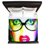 Drag Queen HRHSF King Duvet