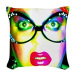 Drag Queen HRHSF Woven Throw Pillow