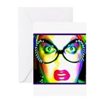 Drag Queen HRHSF Greeting Cards (Pk of 20)