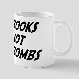 Books Not Bombs Mug