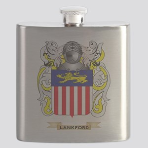 Lankford Coat of Arms - Family Crest Flask