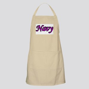 Pink and Black Navy BBQ Apron