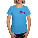 Pink and Black Navy Women's Dark T-Shirt