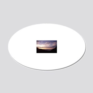 Great Smoky Mountain Nationa 20x12 Oval Wall Decal