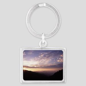 Great Smoky Mountain National P Landscape Keychain