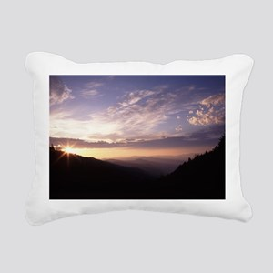 Great Smoky Mountain Nat Rectangular Canvas Pillow