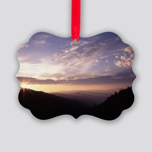 Great Smoky Mountain National Par Picture Ornament