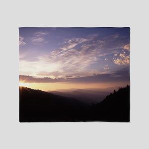 Great Smoky Mountain National Park Throw Blanket