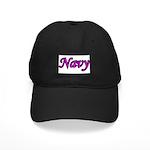 Pink and Black Navy Black Cap