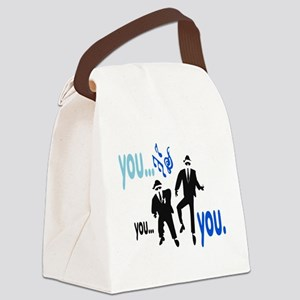 Brothers Canvas Lunch Bag