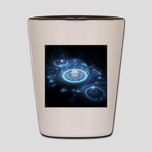 Blue Dom Shot Glass