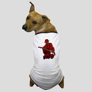 Blues guitar Dog T-Shirt