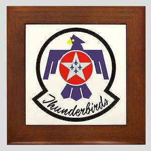 Thunderbirds Military Framed Tile
