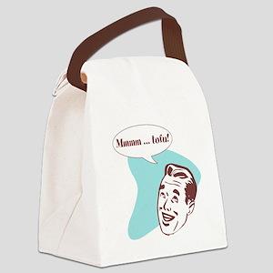 Mmm, Tofu! Canvas Lunch Bag