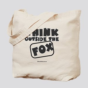 Think Outside The Fox Tote Bag