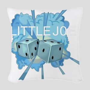 FB-111A 68-0249 Little Joe Woven Throw Pillow