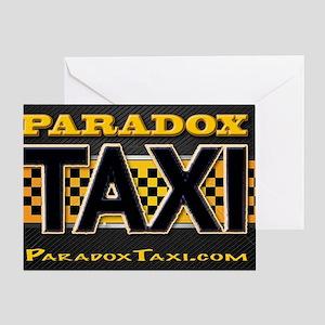 Paradox Taxi Box Logo Greeting Card