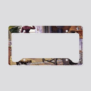 Dimanche (Sunday) License Plate Holder