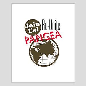 Re-Unite Pangea Small Poster